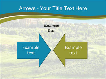View of the town PowerPoint Templates - Slide 90