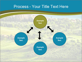 View of the town PowerPoint Templates - Slide 91