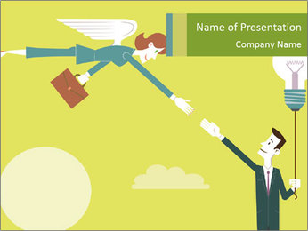 Business Angel PowerPoint Template