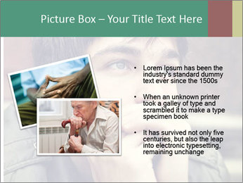 Toned of sad Teenager PowerPoint Template - Slide 20