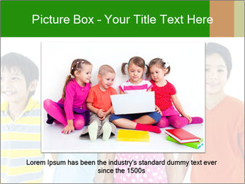 Kids holding hand PowerPoint Template - Slide 15