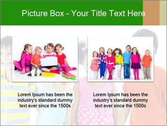 Kids holding hand PowerPoint Template - Slide 18