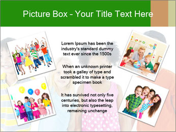 Kids holding hand PowerPoint Template - Slide 24