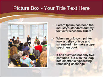 Speaker at Business Conference and Presentation PowerPoint Templates - Slide 13