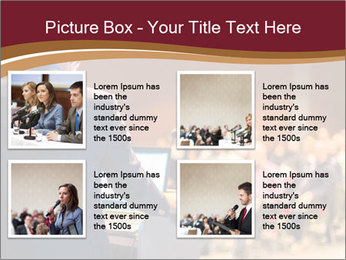 Speaker at Business Conference and Presentation PowerPoint Templates - Slide 14