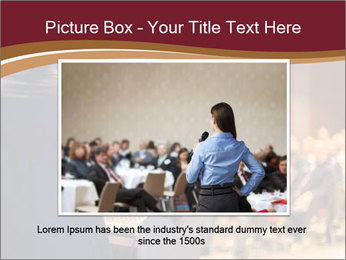 Speaker at Business Conference and Presentation PowerPoint Templates - Slide 15
