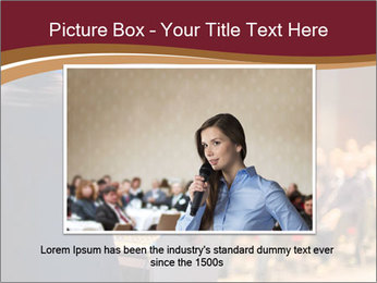 Speaker at Business Conference and Presentation PowerPoint Templates - Slide 16