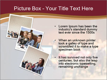 Speaker at Business Conference and Presentation PowerPoint Templates - Slide 17