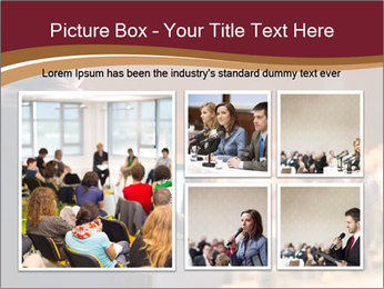 Speaker at Business Conference and Presentation PowerPoint Templates - Slide 19