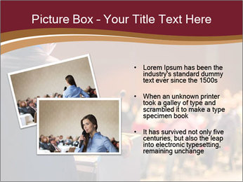 Speaker at Business Conference and Presentation PowerPoint Template - Slide 20