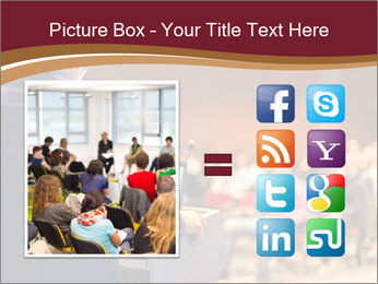Speaker at Business Conference and Presentation PowerPoint Templates - Slide 21