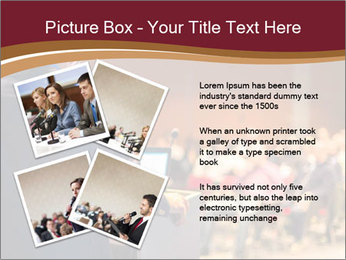 Speaker at Business Conference and Presentation PowerPoint Templates - Slide 23