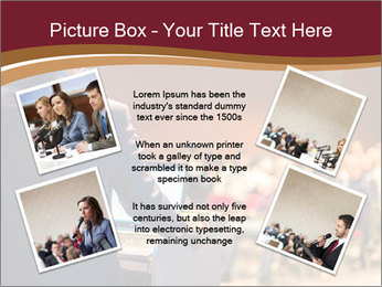 Speaker at Business Conference and Presentation PowerPoint Templates - Slide 24