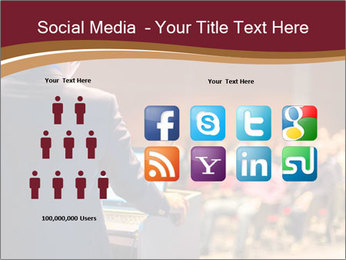 Speaker at Business Conference and Presentation PowerPoint Templates - Slide 5