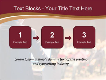 Speaker at Business Conference and Presentation PowerPoint Templates - Slide 71