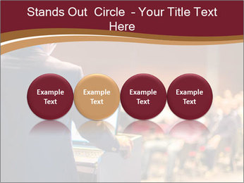 Speaker at Business Conference and Presentation PowerPoint Templates - Slide 76