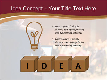 Speaker at Business Conference and Presentation PowerPoint Templates - Slide 80