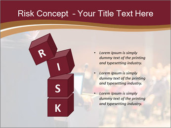 Speaker at Business Conference and Presentation PowerPoint Templates - Slide 81