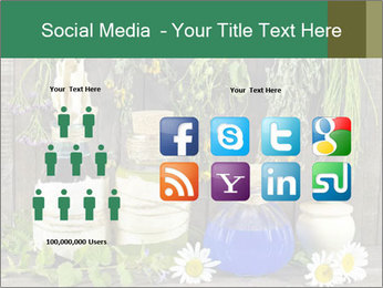 Still life with healing herbs PowerPoint Templates - Slide 5