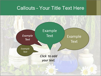 Still life with healing herbs PowerPoint Templates - Slide 73