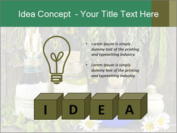 Still life with healing herbs PowerPoint Templates - Slide 80
