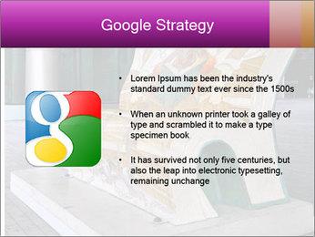Beautiful design street bench PowerPoint Template - Slide 10