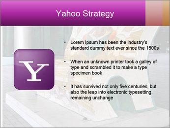 Beautiful design street bench PowerPoint Template - Slide 11