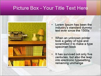 Beautiful design street bench PowerPoint Template - Slide 13