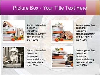 Beautiful design street bench PowerPoint Template - Slide 14