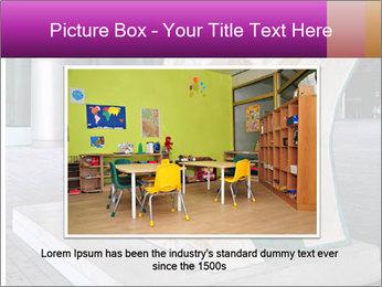 Beautiful design street bench PowerPoint Templates - Slide 15