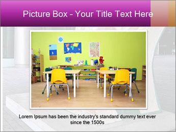 Beautiful design street bench PowerPoint Template - Slide 16