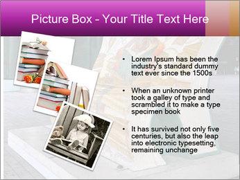 Beautiful design street bench PowerPoint Template - Slide 17