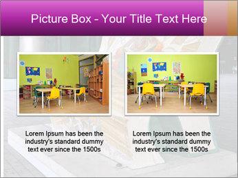 Beautiful design street bench PowerPoint Template - Slide 18