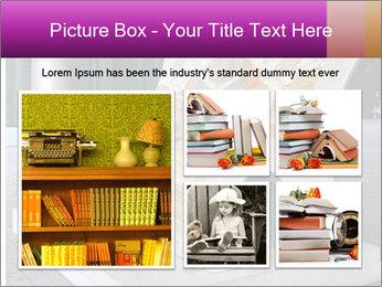 Beautiful design street bench PowerPoint Templates - Slide 19