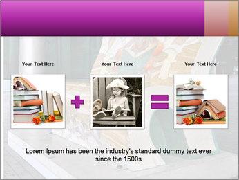 Beautiful design street bench PowerPoint Template - Slide 22