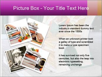 Beautiful design street bench PowerPoint Template - Slide 23