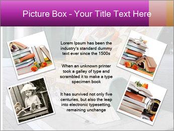 Beautiful design street bench PowerPoint Template - Slide 24