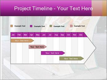 Beautiful design street bench PowerPoint Template - Slide 25