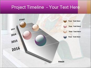 Beautiful design street bench PowerPoint Template - Slide 26