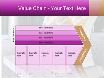 Beautiful design street bench PowerPoint Template - Slide 27