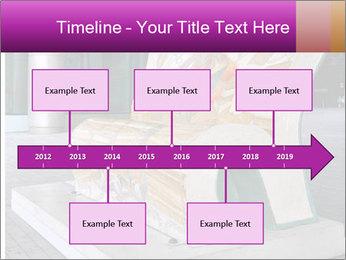 Beautiful design street bench PowerPoint Template - Slide 28