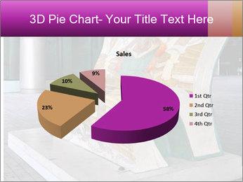 Beautiful design street bench PowerPoint Templates - Slide 35
