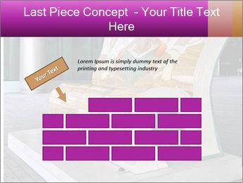 Beautiful design street bench PowerPoint Template - Slide 46