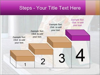 Beautiful design street bench PowerPoint Templates - Slide 64