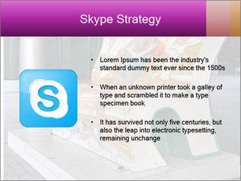 Beautiful design street bench PowerPoint Template - Slide 8