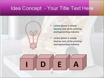 Beautiful design street bench PowerPoint Templates - Slide 80