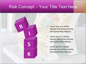 Beautiful design street bench PowerPoint Template - Slide 81