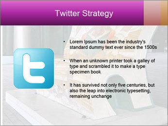 Beautiful design street bench PowerPoint Templates - Slide 9