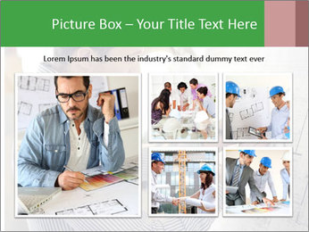 Portrait of architect working PowerPoint Templates - Slide 19