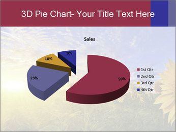 Sunflower field PowerPoint Templates - Slide 35